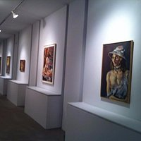 Raoul Middleman exhibition