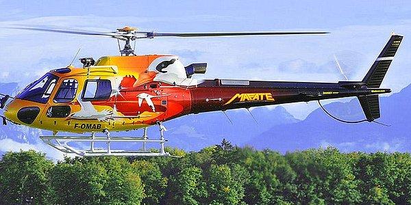 le paille en queue de Mafate Hélicoptères