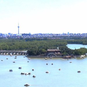 Пекин. Остров Наньху в парке Летнего дворца.
