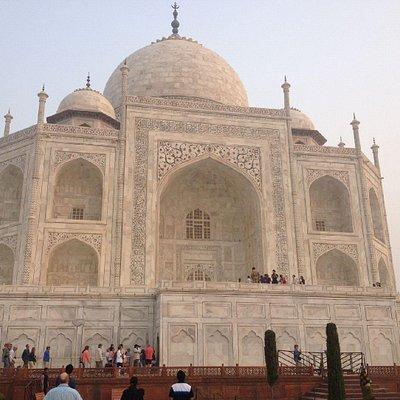 The iconic Taj Mahal