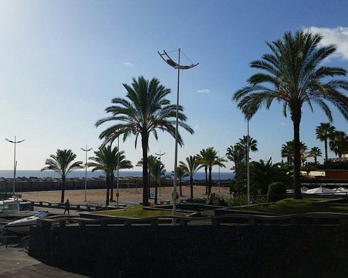 From the promenade