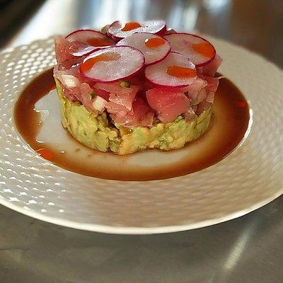 Jean George's tuna tartare