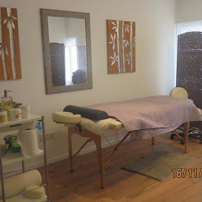 Quiromassage room
