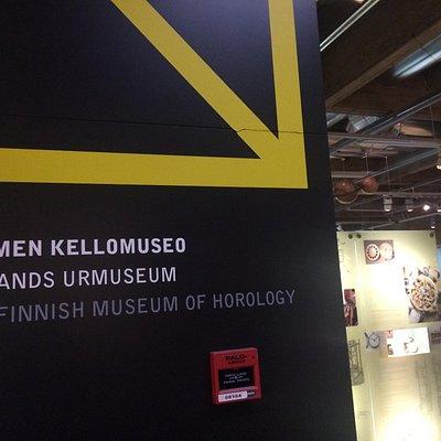 Kellomuseo     Museum of horology