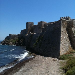 FORTRESS VIEWED FROM SEASIDE
