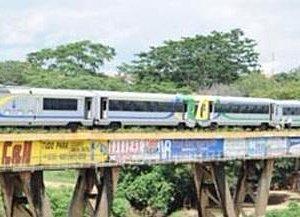 Metro sobre o Poty
