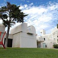 Façana Fundació Joan Miró