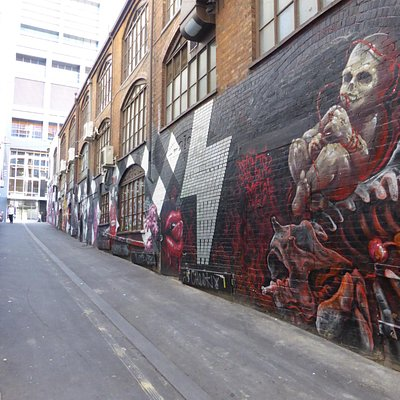 AC/DC lane graffiti