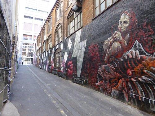 AC/DC lane graffiti