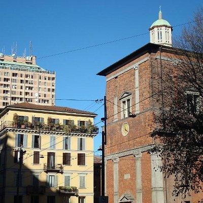 Cappella Trivulzio con Torre Velasca