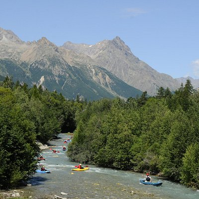 Rafting, Canoraft, Airboat, Kayak...sur la Guisane
