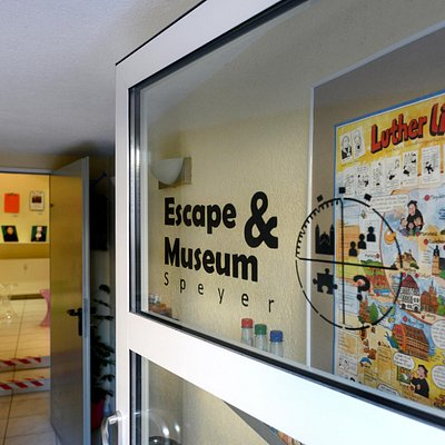 Escape&Museum Speyer: Eingang