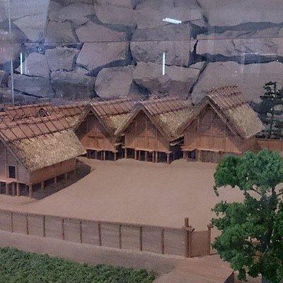 鳴滝遺跡の復元模型(紀伊風土記の丘資料館)