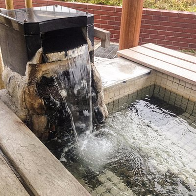 Feel good moment with a foot onsen spa