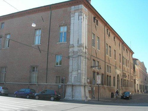 Palazzo Turchi di Bagno visto da Corso Biagio Rossetti