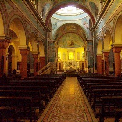 Detalle de la Iglesia de Nuestra Señora del Carmen.