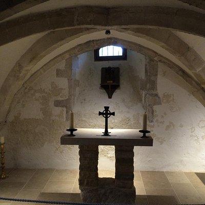 crypt of holy trinity bosham