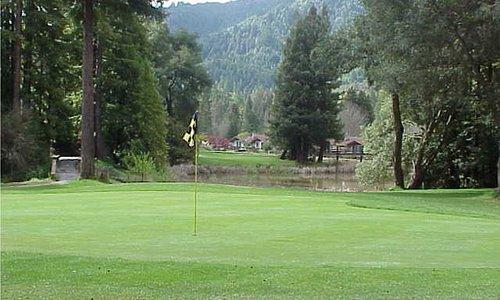 Golfing in Boulder Creek - Photo courtesy of Boulder Creek Golf & Country Club