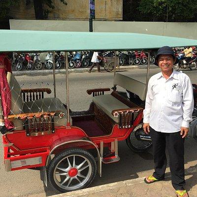 Best Tuk Tuk driver in Phnom Penh