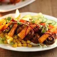 Veg & Non Veg. Salads at MiK-4ever Indian restaurant