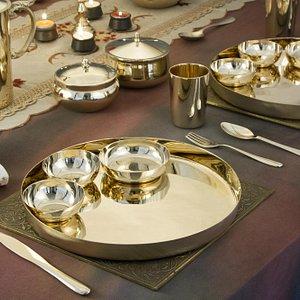 Kansa Dinner Sets also available