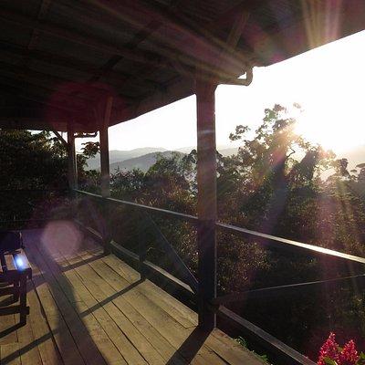 Morning sunrise at El Copal