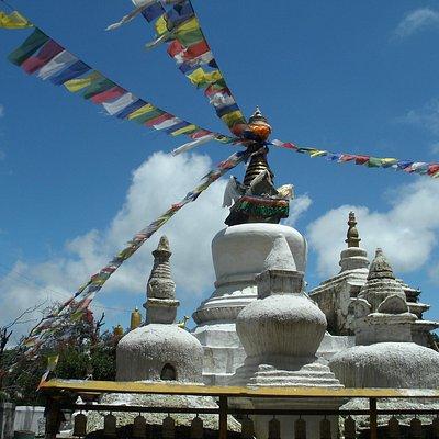 Orginele tempel Namo Buddha