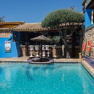 The Pool at the Ibiza Rocks House at Pikes Hotel