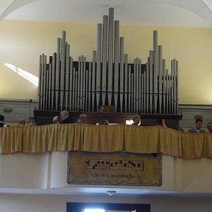 Eglise de San Quirino - L'orgue