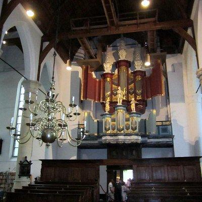 Interior rear of Grote Kerk