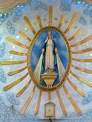 Altar Principal Santuário da Medalha Milagrosa - 10 mts altura... Lindo!