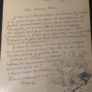 Manuscrit de Magritte