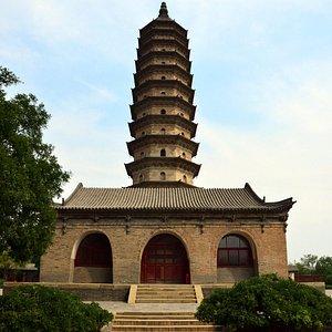 Twin Pagoda Temple Taiyuan City