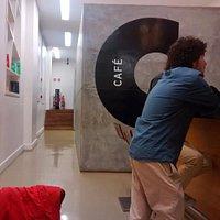 lateral do Café do Teatro Oi Futuro Ipanema