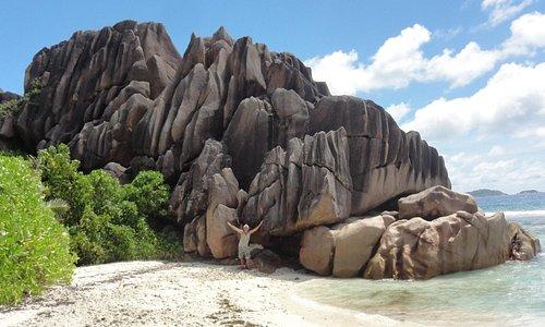 Très GROSSE roche