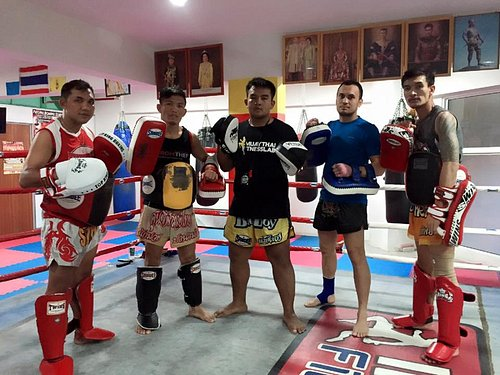 The Thai trainers and assistants.