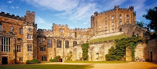 The Countyard inside Durham Castle