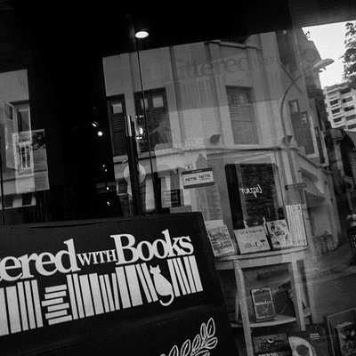 Shop Front, Littered With Books, 20 Duxton Road