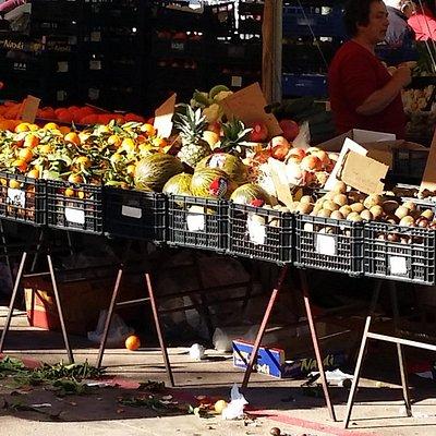 Blick auf den Markt