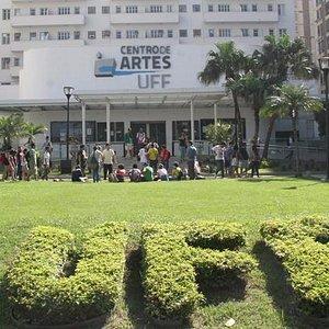 Faixada do Centro de Artes UFF