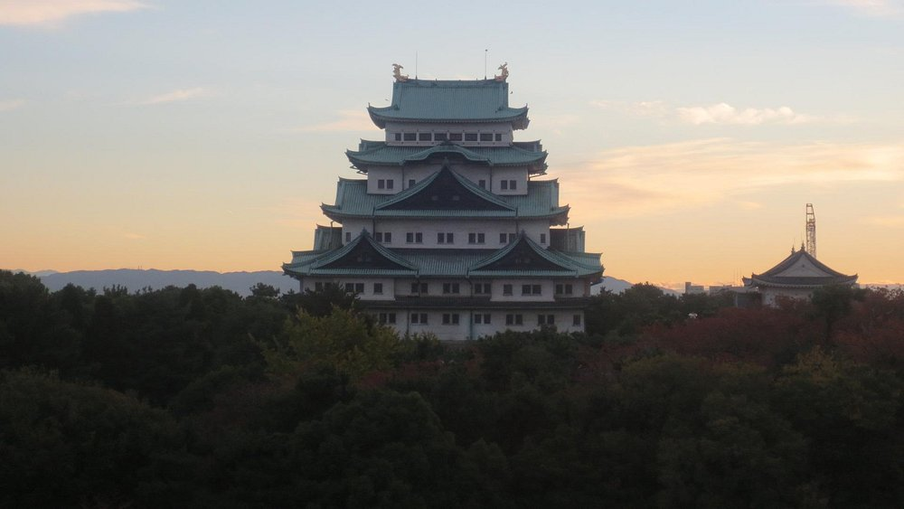 Nagoya Castle by Morning