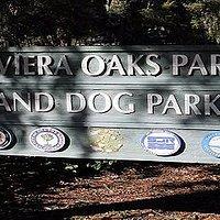 Entrance to Riviera Oaks Dog Park