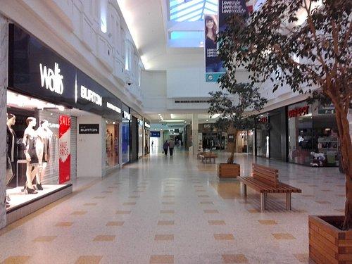 Inside the Arndale Centre