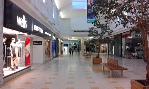 Inside the Arndale Centre