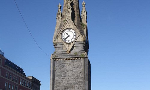 Clocktower on Meaghers quay.