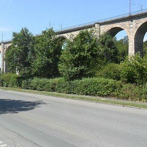 Het Bekenviaduct in Altenbeken.