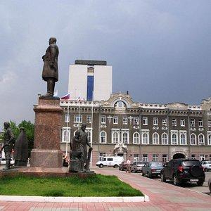 Памятник П.А. Столыпину.
