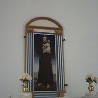 Santo Antonio pintado por Cândido Portinari