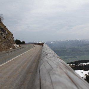 Rossfeld panorama Strasse