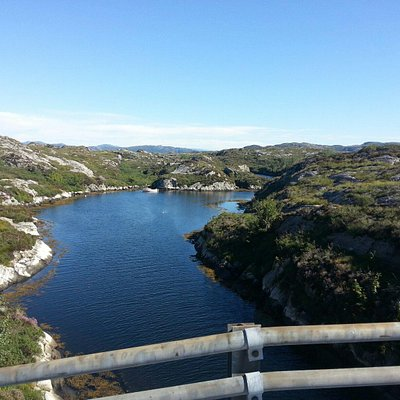 Bomlo you will find between Stavanger and Bergen on the west coast a beautiful place for camping